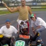 Tres novatos y Bernal ganan endurance de kartismo